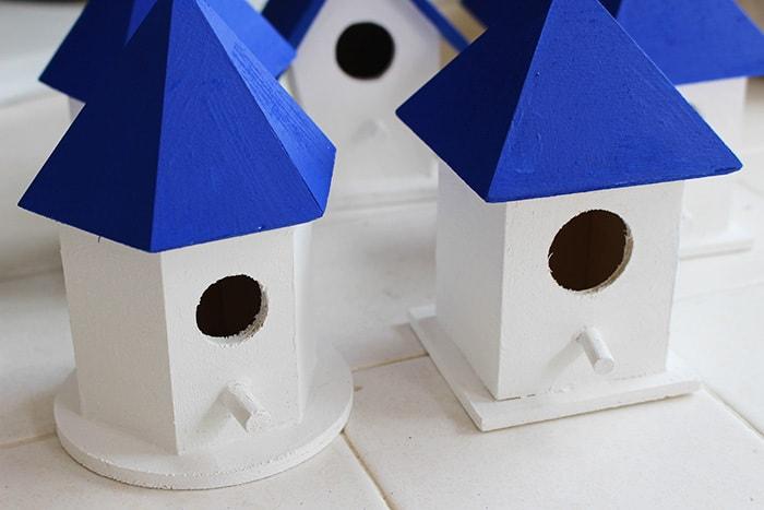 Santorini Birdhouse Project