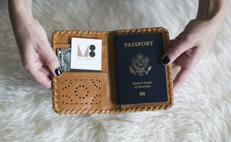 a passport holder
