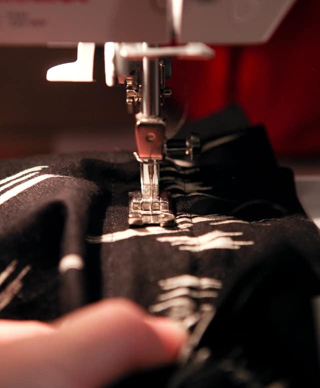 DIY Paperbag Waist Skirt for Girls
