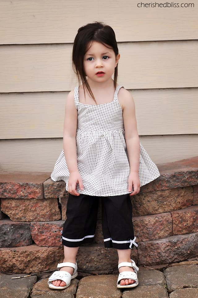 DIY Peekaboo Toddler Tank
