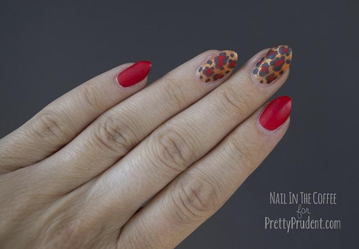 Leopard Print 'Peg Bundy' Nail Tutorial