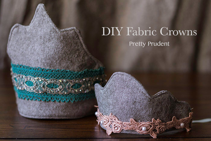 DIY Fabric Crowns (6 Free Templates)