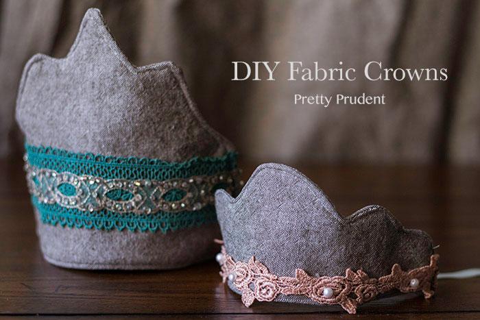 DIY Fabric Crowns (6 Free Templates)
