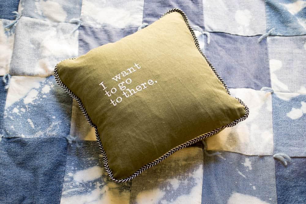 Pretty Prudent Liz Lemon Pillow