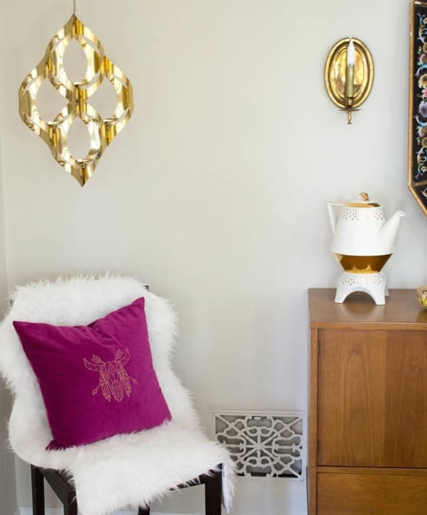 Pretty Prudent Embroidered Pillows - Skull