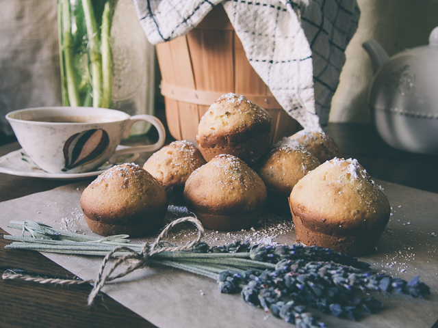 Image result for lavender and lemon muffins