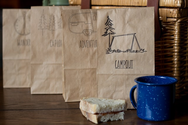 DIY Customized Lunch Bags + Silhouette Promotion
