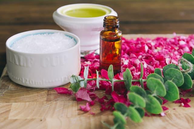 DIY Rose and Eucalyptus Salt Scrub (1 of 5)