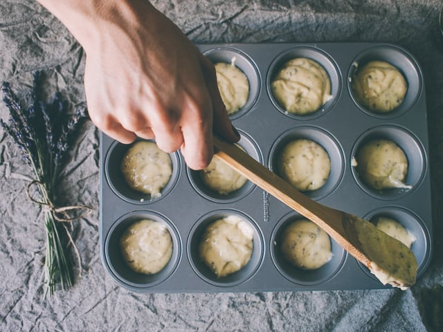 Lavender & Lemon Muffins Recipe