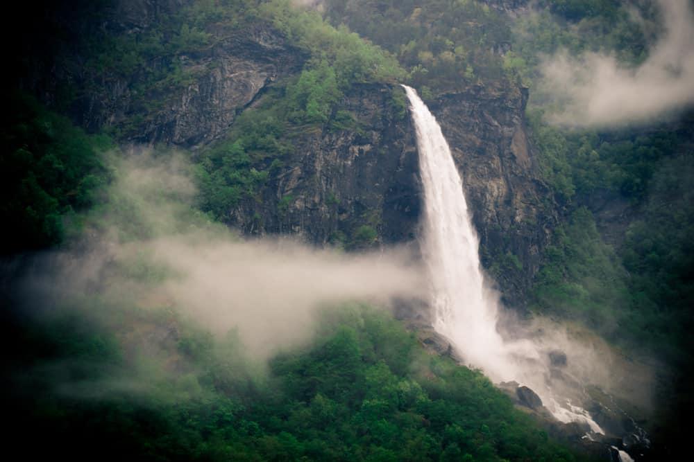 Flam Railway Waterfall | Pretty Prudent