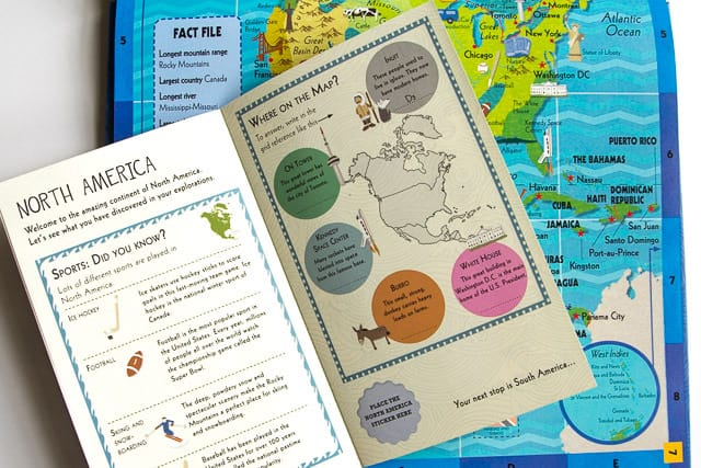 Giveaway: Children's Activity Atlas