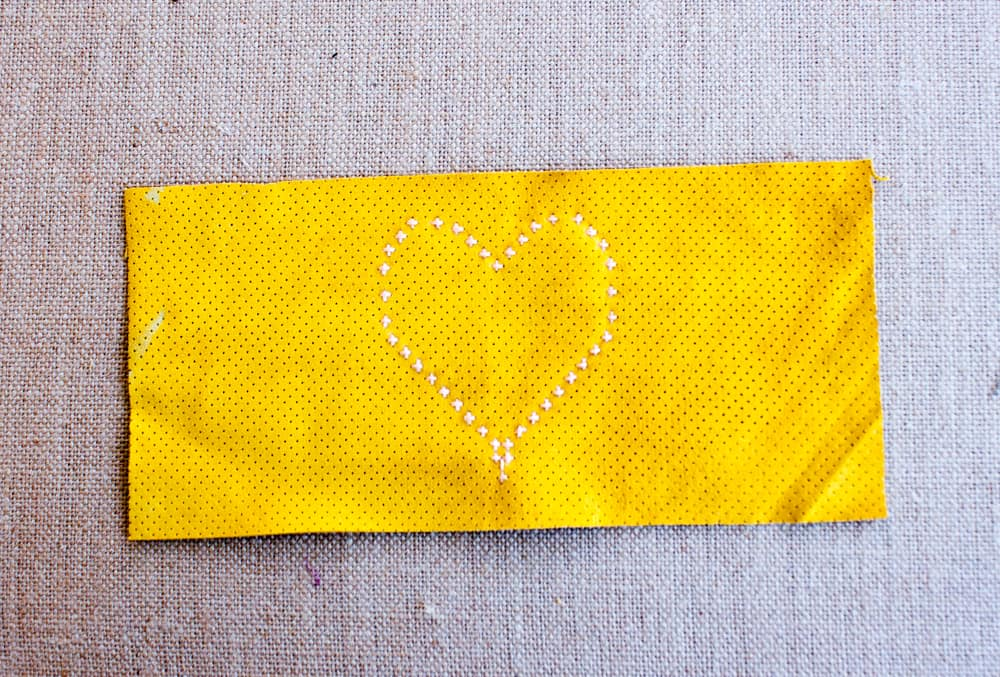 DIY Pencil Case Heart @prettyprudent
