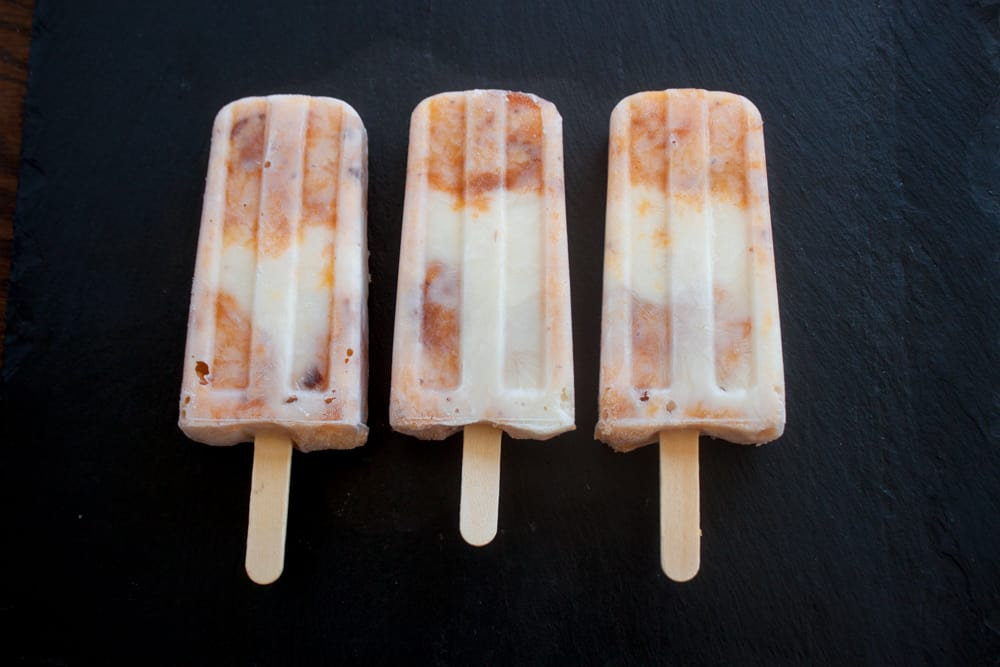 Peaches & Cream Pops | Pretty Prudent