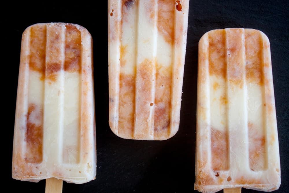 Peaches & Cream Pops | Pretty Prudent