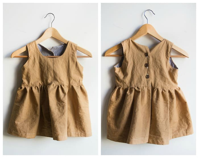 DIY Pinafore (with Free Pattern)