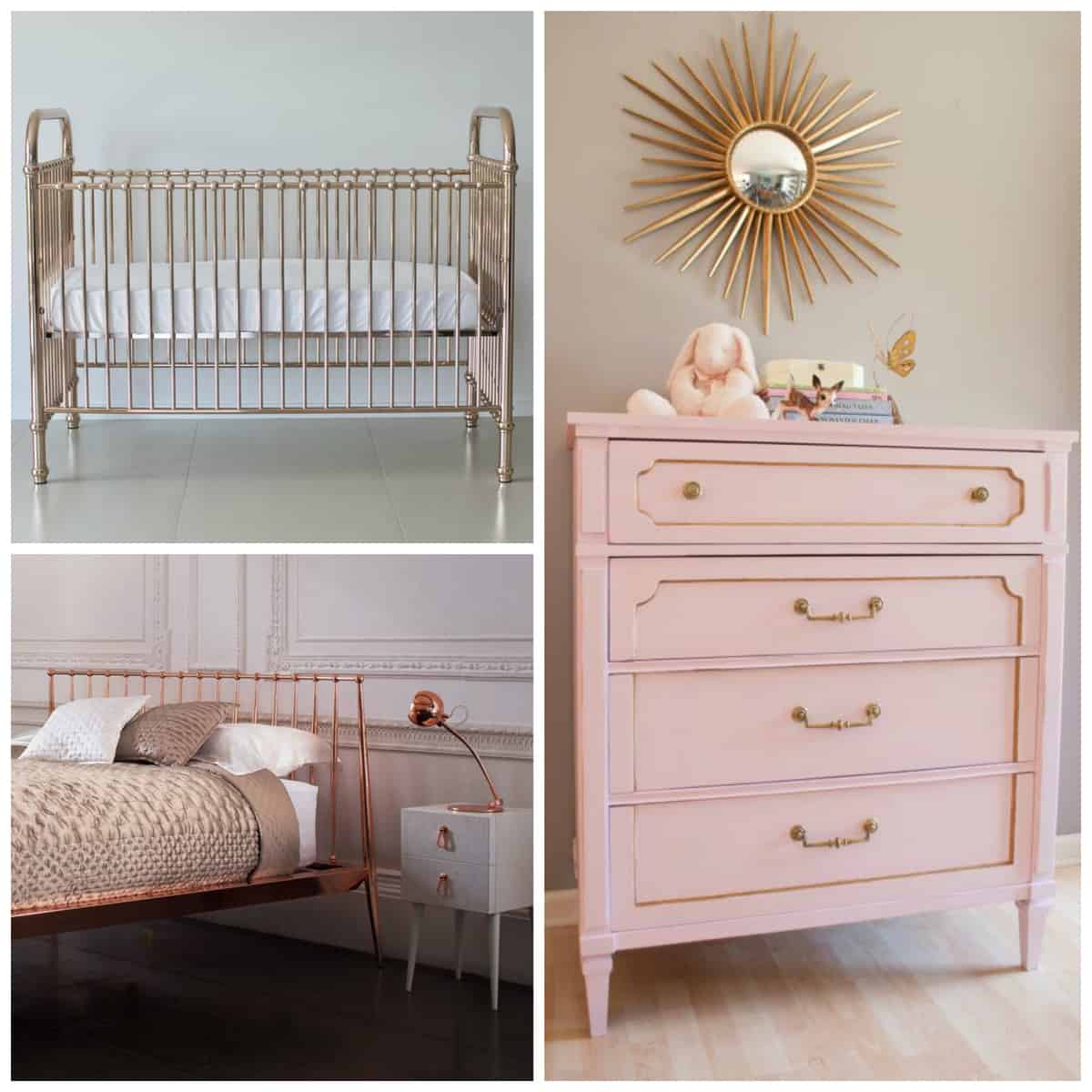 Everything s coming up rose gold pretty prudent for Bedroom ideas rose gold