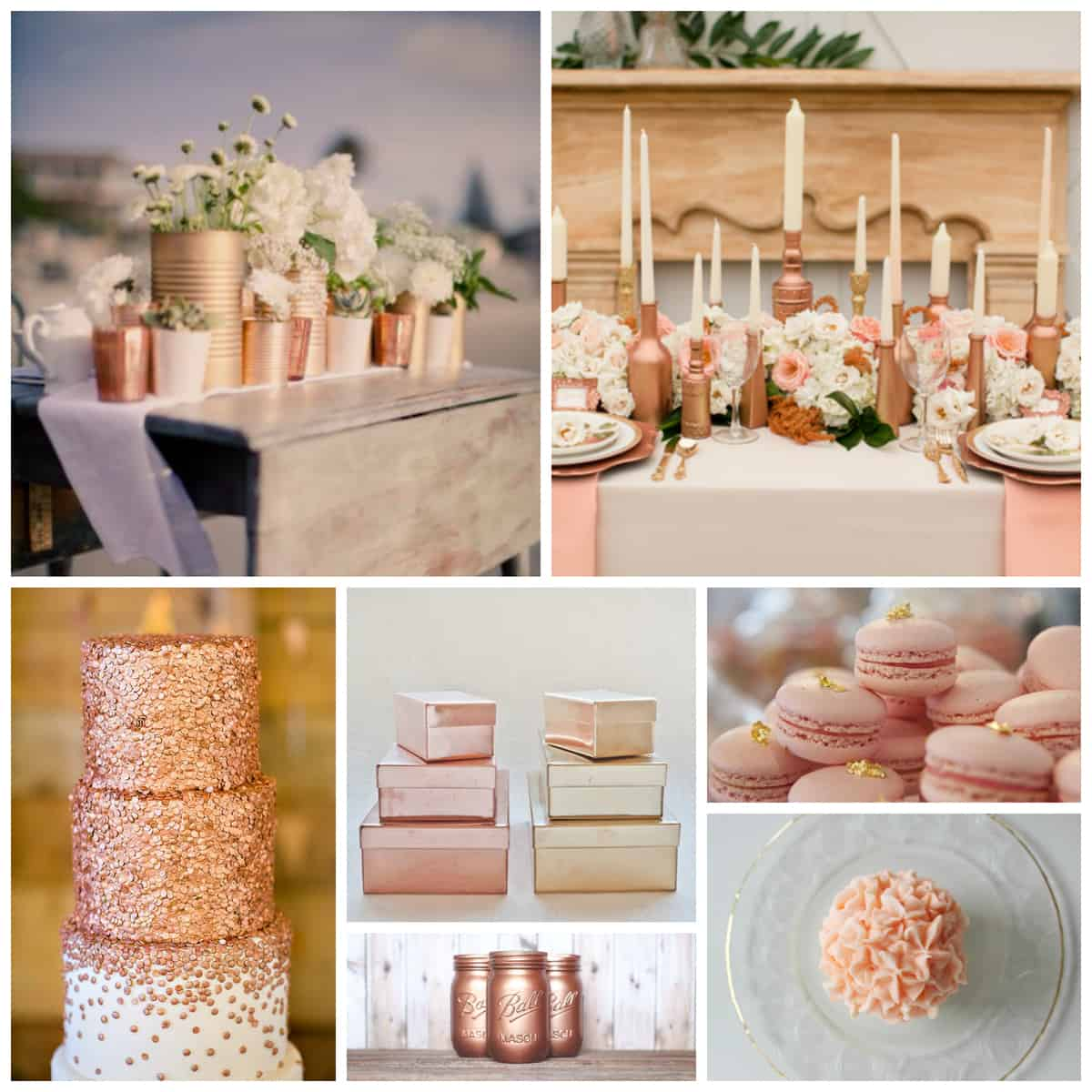 Rose Gold Entertaining | Pretty Prudent