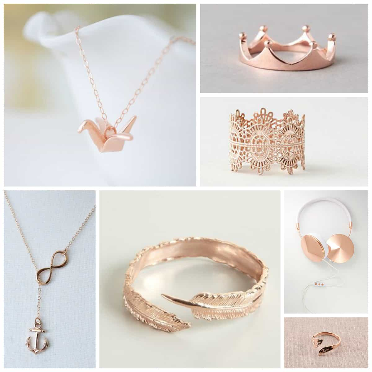 Rose Gold Jewelry | Pretty Prudent