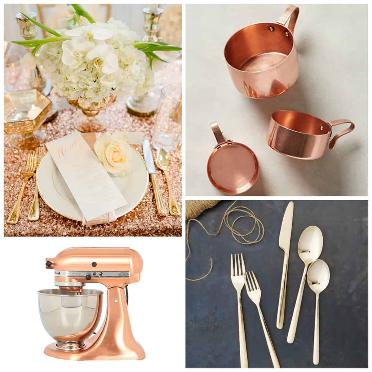 Rose Gold Kitchen Accessories | Pretty Prudent