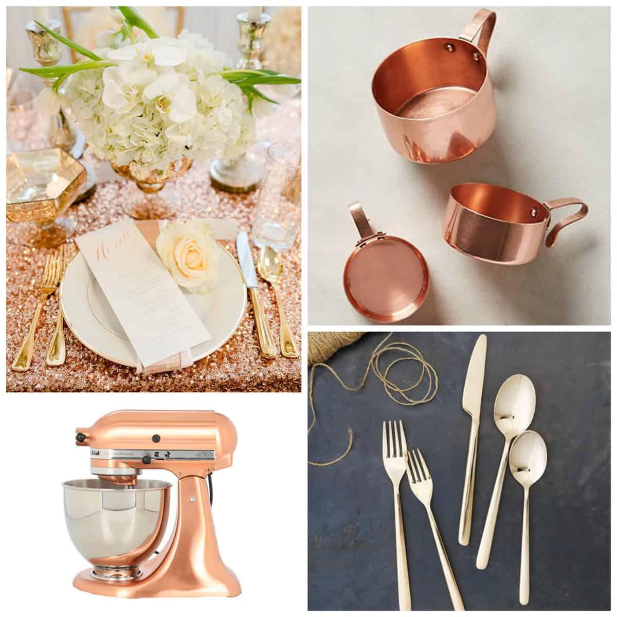 Rose Gold Kitchen Accessories   Pretty Prudent