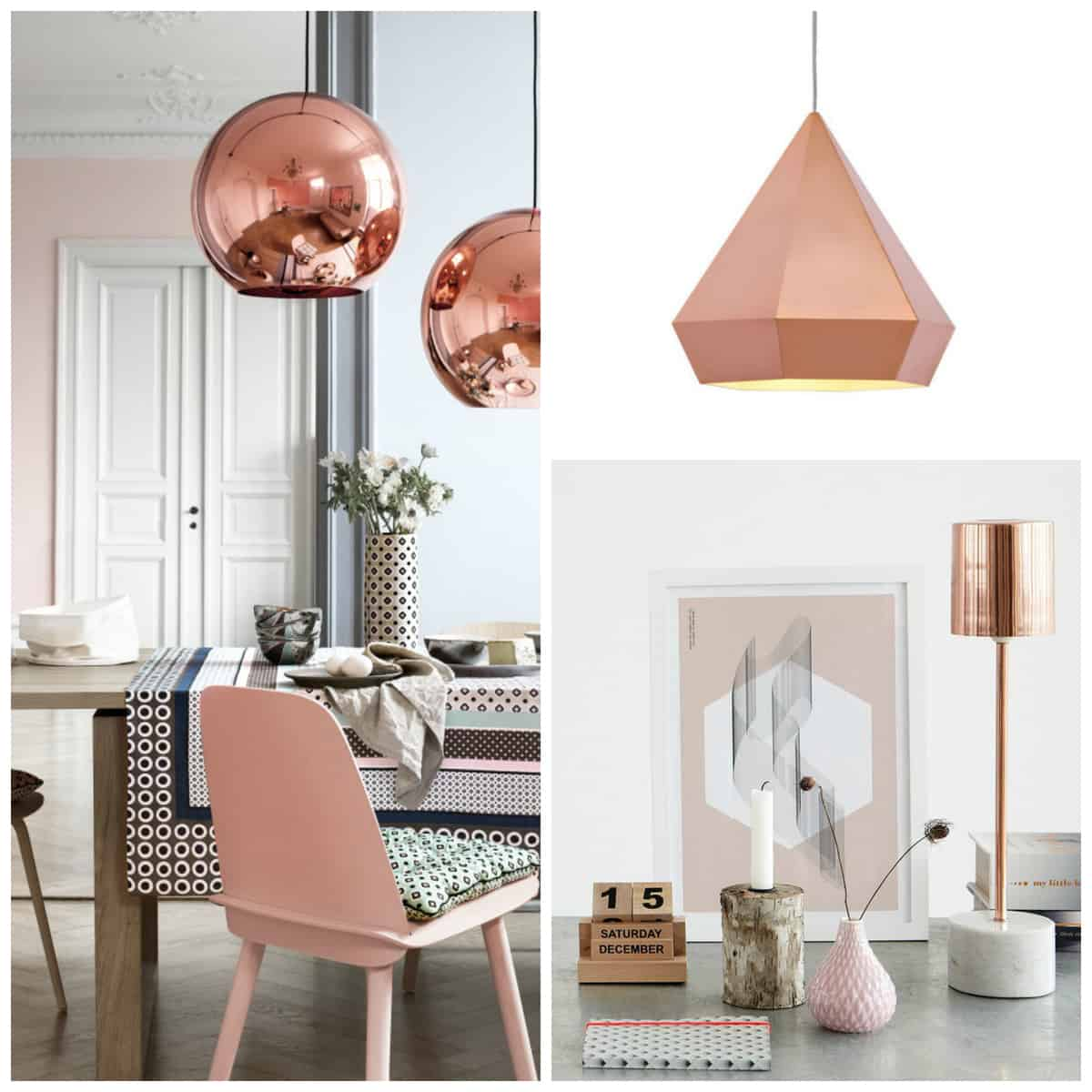 Rose Gold Lighting | Pretty Prudent