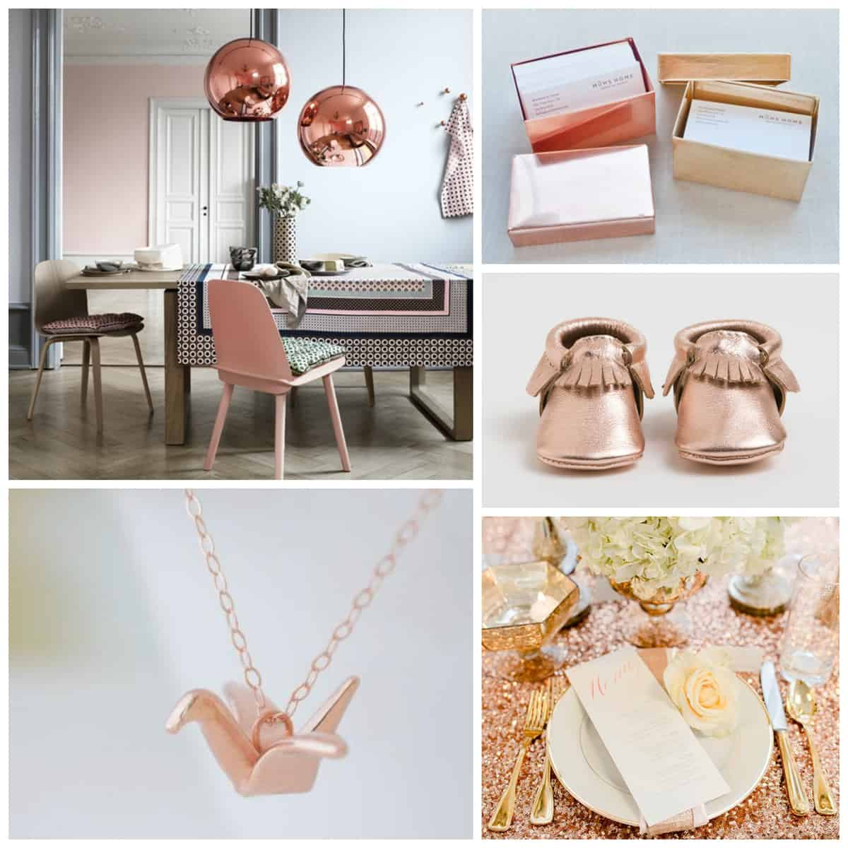 Everything s coming up rose gold pretty prudent for Kitchen ideas rose gold