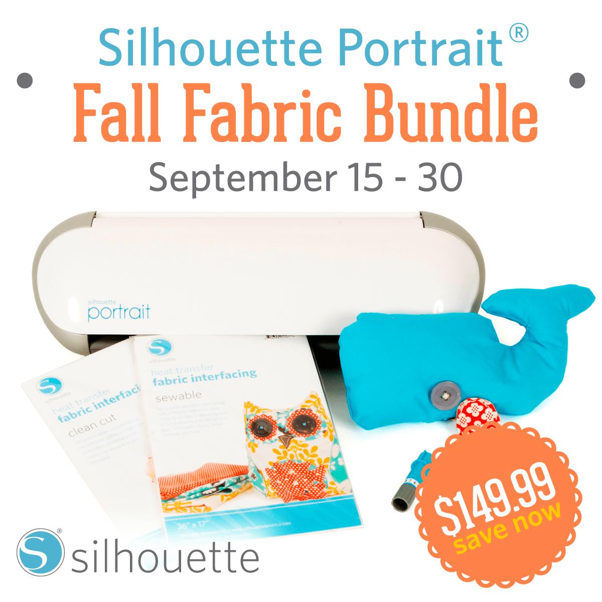 Fall Silhouette Portrait + Fabric Bundle Promotion!