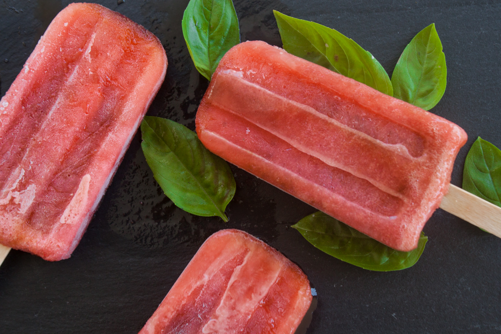 Jaime's Famous Strawberry Basil Balsamic Pop Recipe