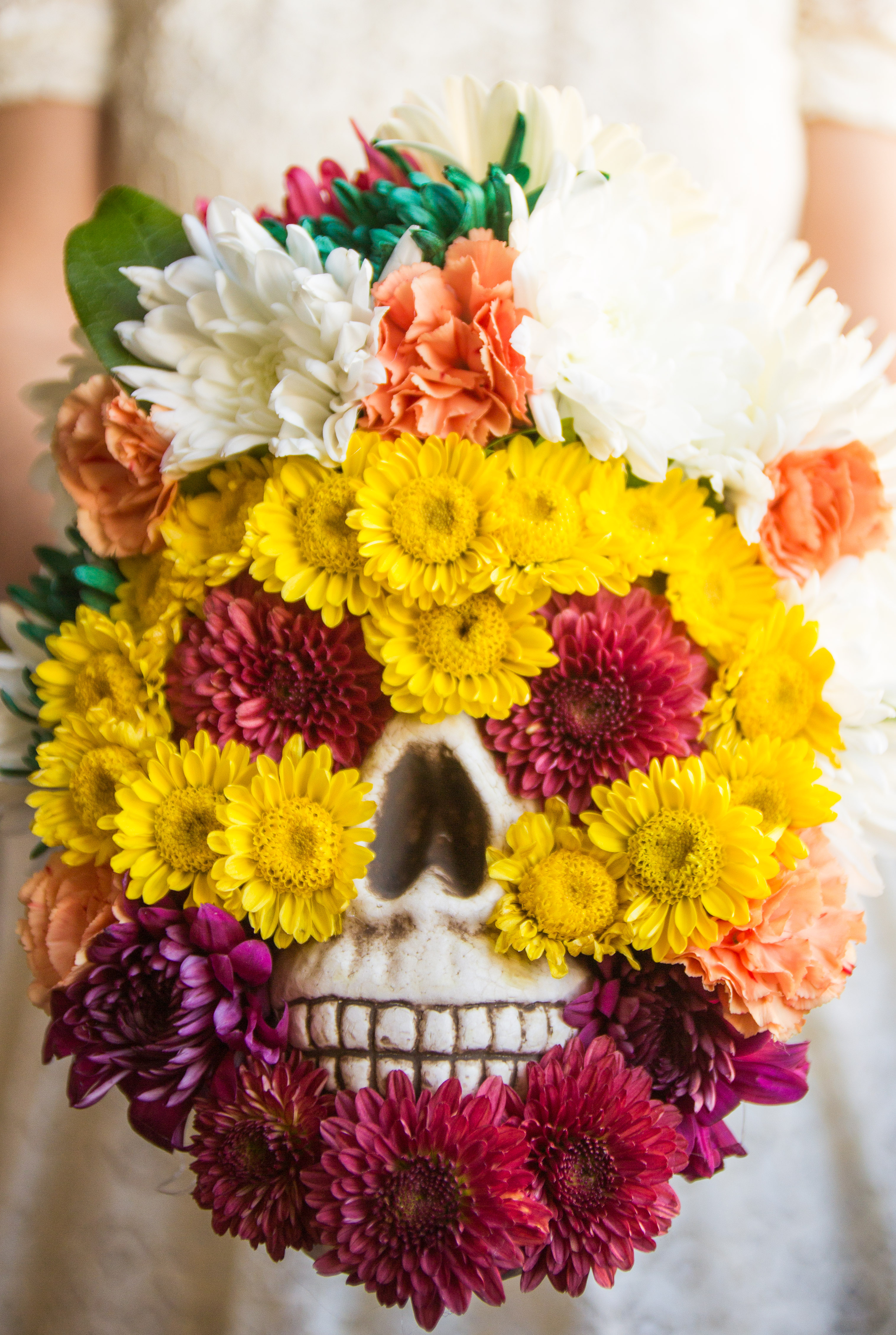 Flower Friday Day Of The Dead Flower Skull