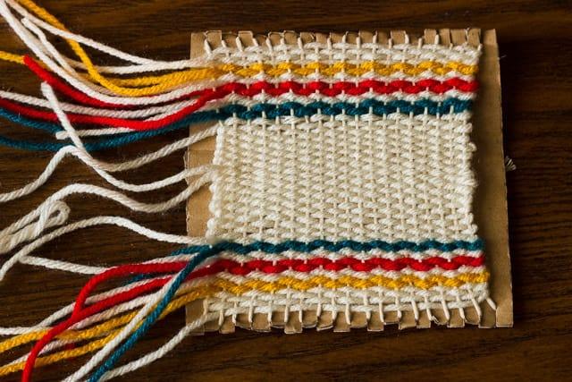 DIY Woven Coasters
