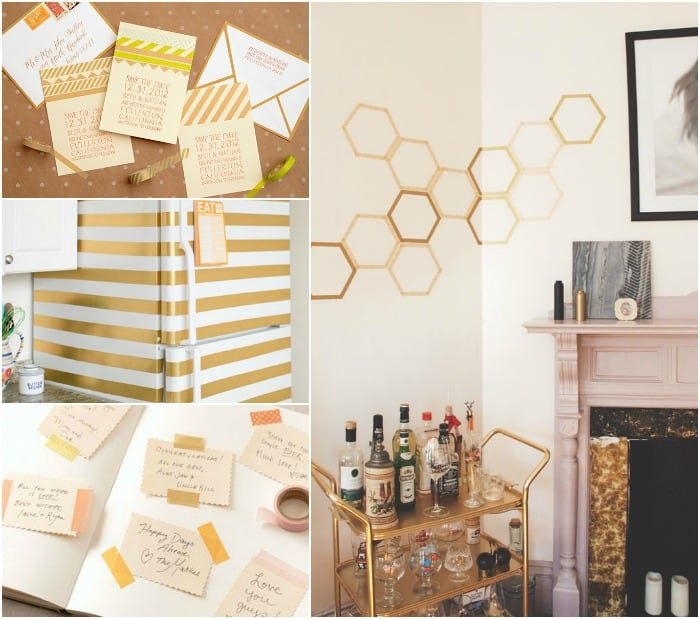 We Love: Washi Tape in the Home