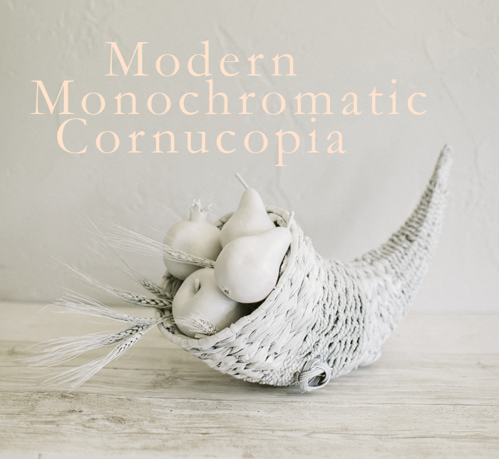 Modern Momochromatic Cornucopia
