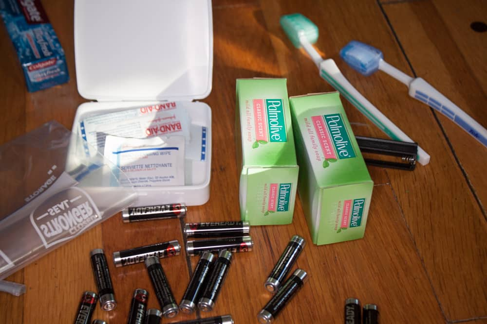 Car Care Packages to Help the Homeless - First Aid Kits