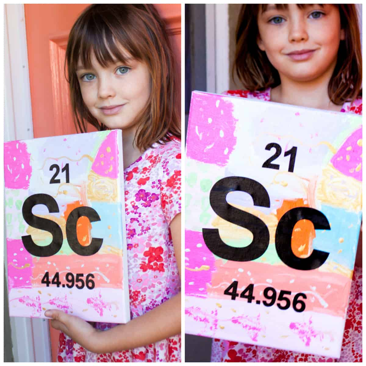 Periodic Table Stencil Art Activity | Pretty Prudent