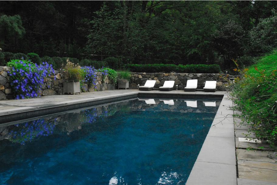 Jacinda's backyard oasis