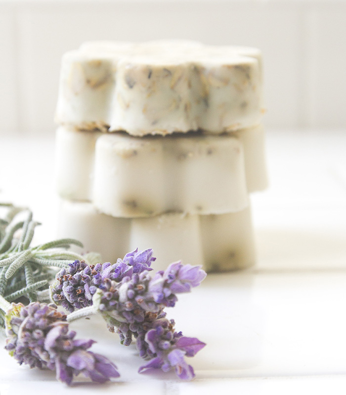 Lavender and Oatmeal Soaps