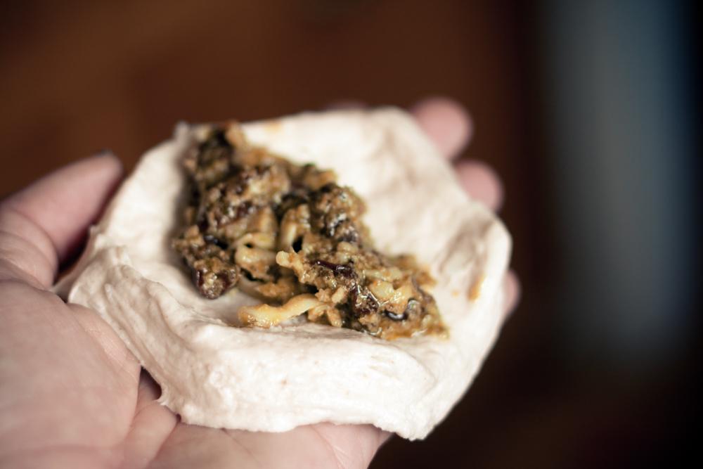 Savory Pesto Monkey Bread Step 1
