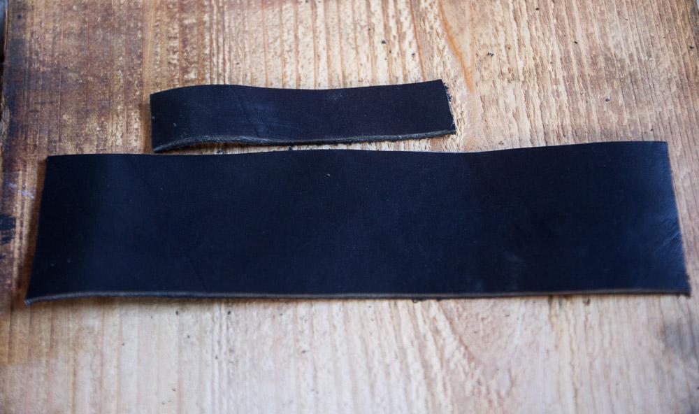 DIY Leather Mug Sleeve