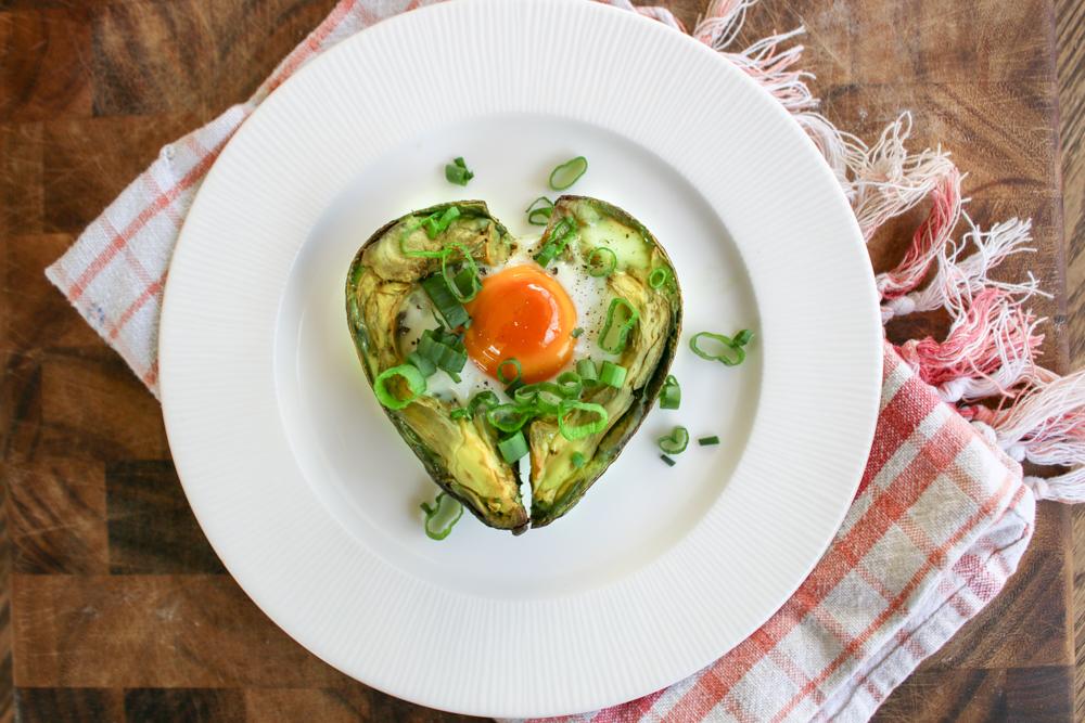 Paleo Valentine: Baked Avocado Heart Recipe