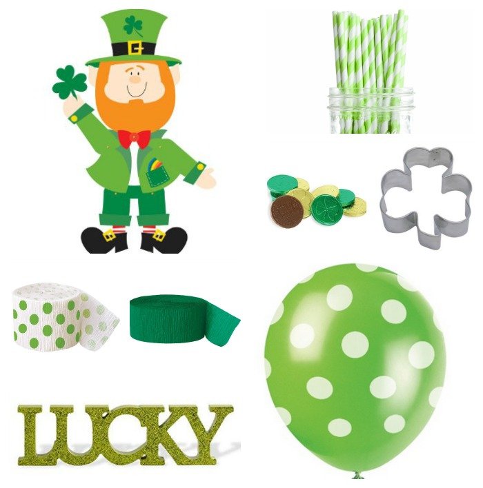 St. Patrick's Party Day Decor