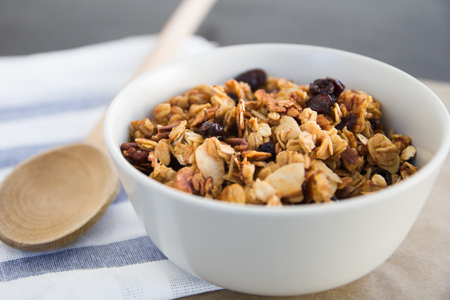 Berry Banana Nut Granola Recipe