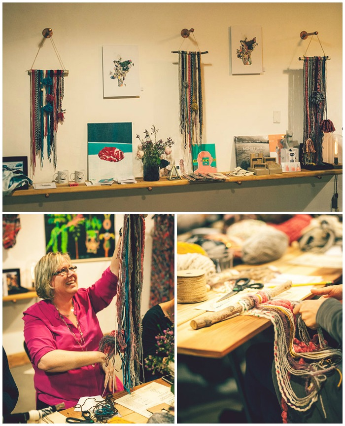 DIY Yarn Tapestry Workshop with Pretty Prudent and Reykjavik Outpost