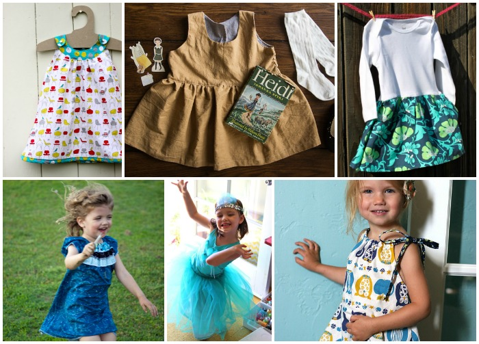 DIY Spring and Easter Dresses for Girls