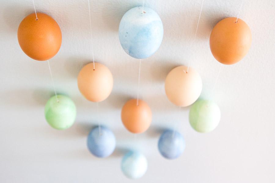 DIY Easter Egg Wall Hanging