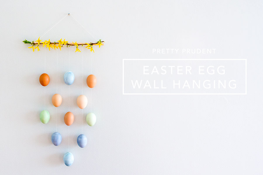 DIY Easter Egg Wall Hanging