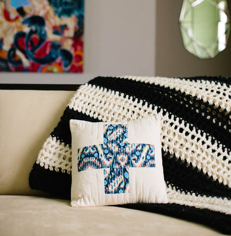 Pretty Prudent Home One Stitch Crochet Blanket