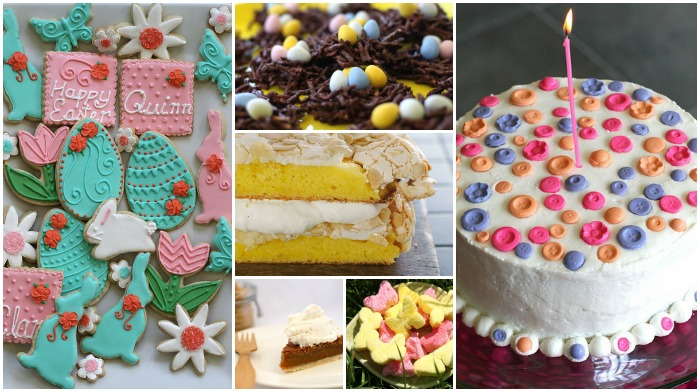 Easter Menu - Dessert Recipes