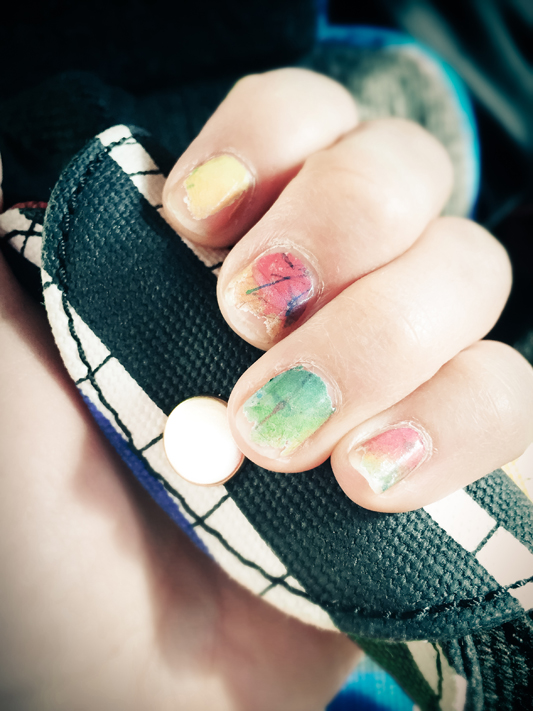 Deconstructed Nail Wraps
