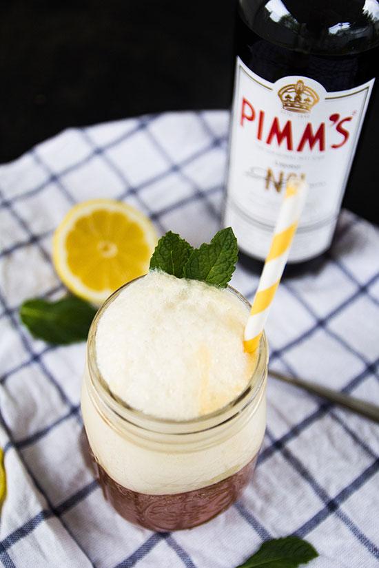 Pimm's Cup Ice Cream Float