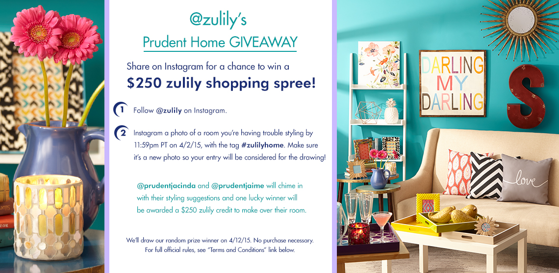 Pretty Prudent Home Zulily sale